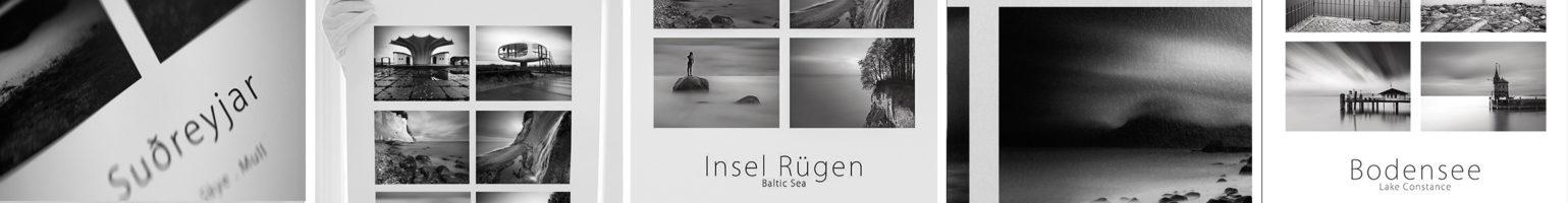 Fine Art Poster vom Bodensee und der Ostsee