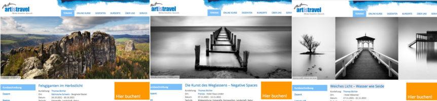 Fotokurse und Fotoreisen 2021