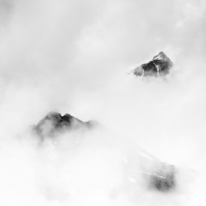 cloud-covered peaks 3