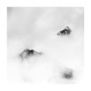 cloud-covered peaks #3 - Bächenstock