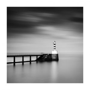 Amble, pier and harbour light, #1