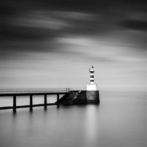 Amble, pier and harbour light, #1