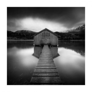 Kochelsee, boathouse, #2